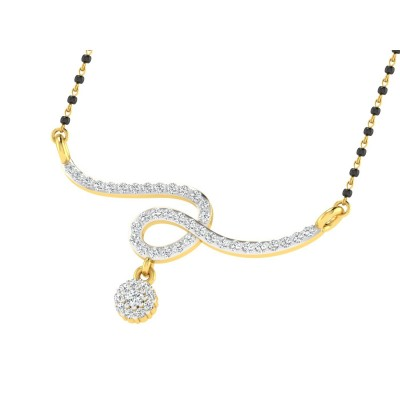 SORAYA DIAMOND TANMANIYA PENDANT in 18K Gold