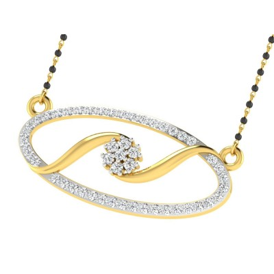 CONSUELA DIAMOND TANMANIYA PENDANT in 18K Gold