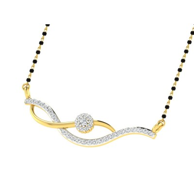 KERSTIN DIAMOND TANMANIYA PENDANT in 18K Gold