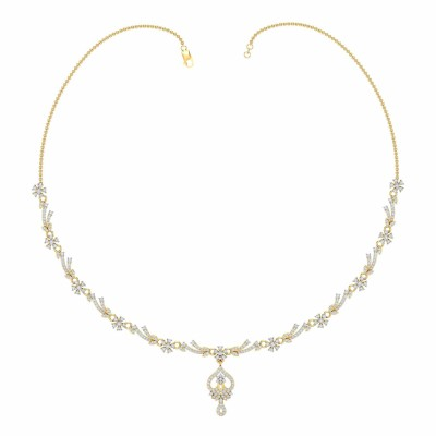 MERRY DIAMOND  NECKLACE in 18K Gold