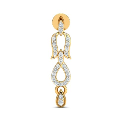 HEIKE DIAMOND DROPS EARRINGS in 18K Gold