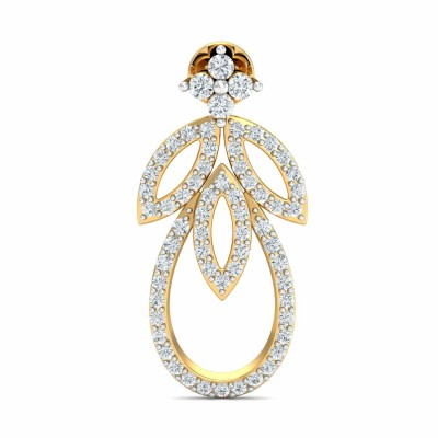 CYNDI DIAMOND DROPS EARRINGS in 18K Gold