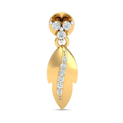 VANNESSA DIAMOND DROPS EARRINGS in 18K Gold