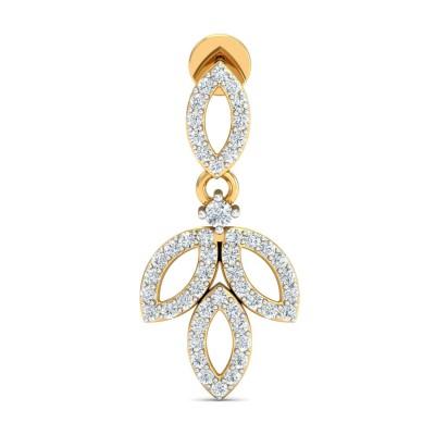 DANUTA DIAMOND DROPS EARRINGS in 18K Gold