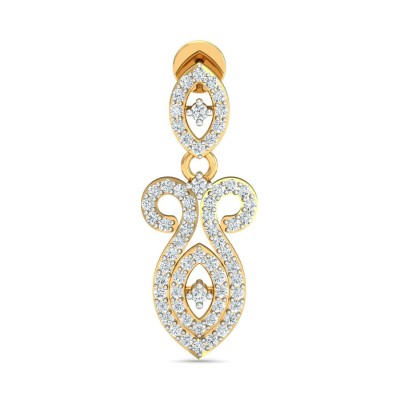SONYA DIAMOND DROPS EARRINGS in 18K Gold