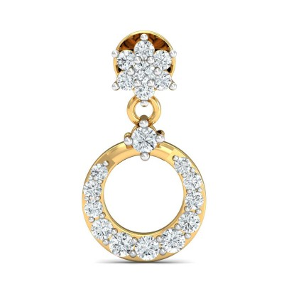 BARRIE DIAMOND DROPS EARRINGS in 18K Gold