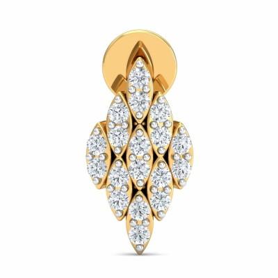 ADA DIAMOND DROPS EARRINGS in 18K Gold
