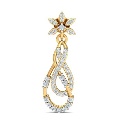 MUOI DIAMOND DROPS EARRINGS in 18K Gold