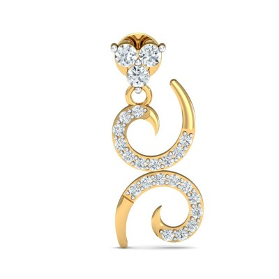 KIMBERY DIAMOND DROPS EARRINGS in 18K Gold