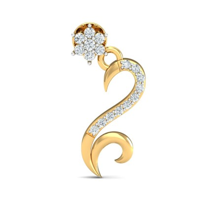 LORRAINE DIAMOND DROPS EARRINGS in 18K Gold