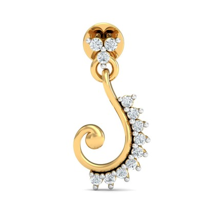 JOYA DIAMOND DROPS EARRINGS in 18K Gold