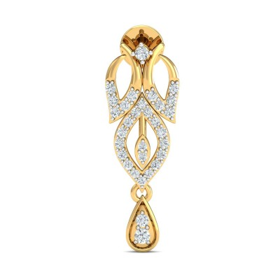 AIKO DIAMOND DROPS EARRINGS in 18K Gold
