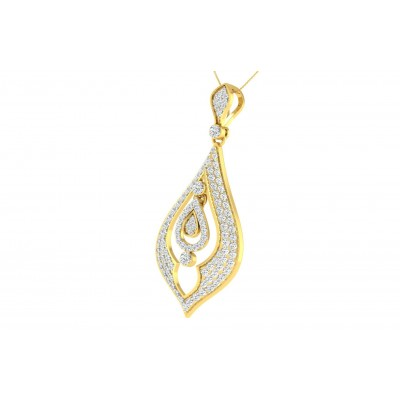 JUDY DIAMOND FASHION PENDANT in 18K Gold