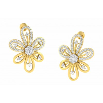 TANIKA DIAMOND STUDS EARRINGS in 18K Gold