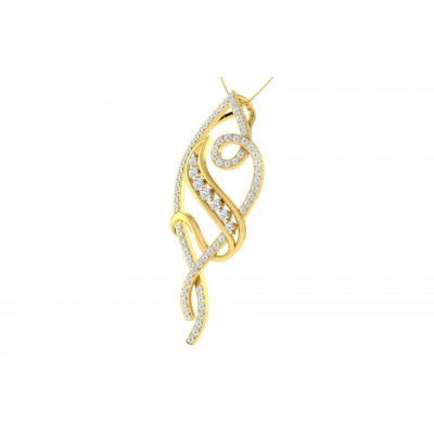 FRANCINA DIAMOND FASHION PENDANT in 18K Gold