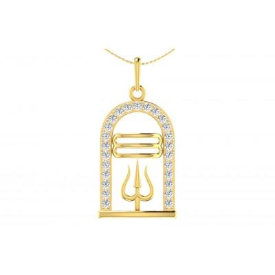 VASANTI DIAMOND RELIGIOUS PENDANT in 18K Gold