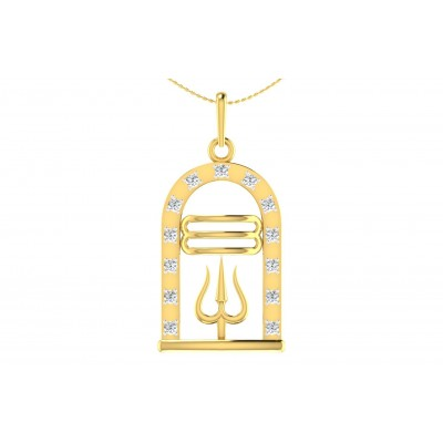 HARITI DIAMOND RELIGIOUS PENDANT in 18K Gold