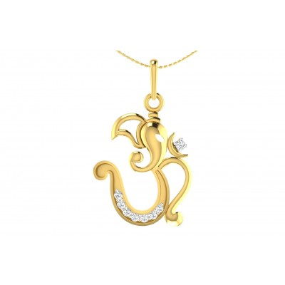 INDRANI DIAMOND RELIGIOUS PENDANT in 18K Gold