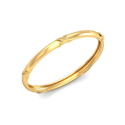 ANIKA  BANGLE in 18K Gold