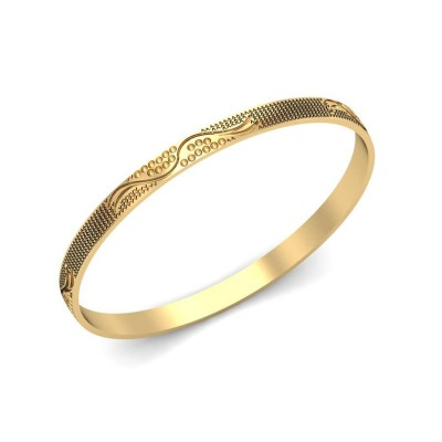 MAYRA  BANGLE in 18K Gold