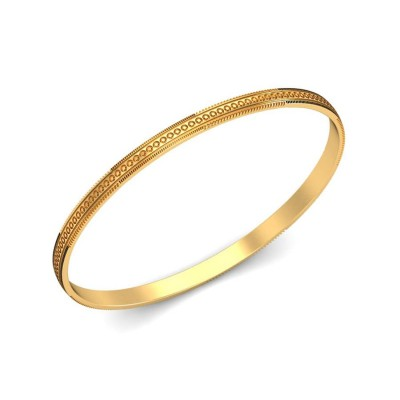 KYRA  BANGLE in 18K Gold