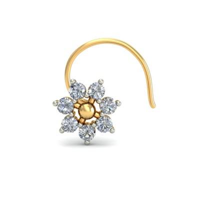 ARLETH DIAMOND  NOSEPIN in 18K Gold
