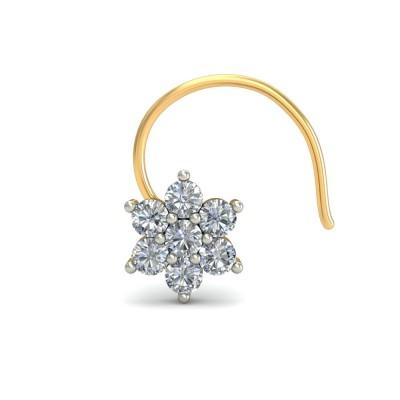 TANAYA DIAMOND  NOSEPIN in 18K Gold