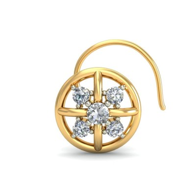 AMULYA DIAMOND  NOSEPIN in 18K Gold