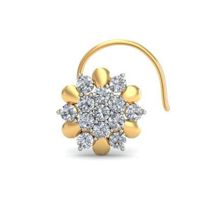 ROYA DIAMOND  NOSEPIN in 18K Gold