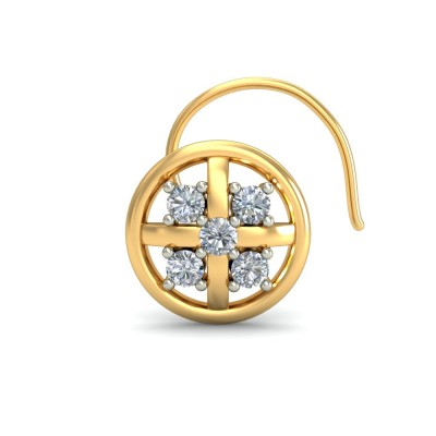 ANUPAMA DIAMOND  NOSEPIN in 18K Gold