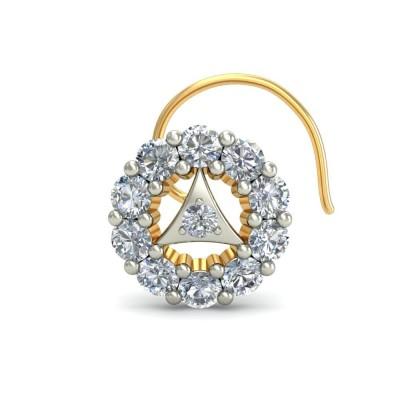 MEHULI DIAMOND  NOSEPIN in 18K Gold