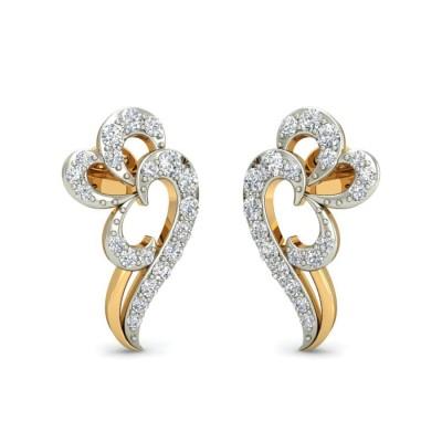 NITA DIAMOND STUDS EARRINGS in 18K Gold