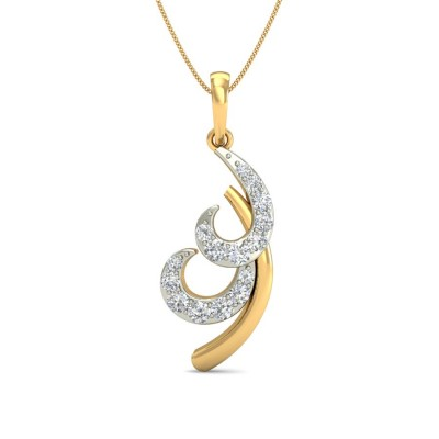 DEVNA DIAMOND FASHION PENDANT in 18K Gold