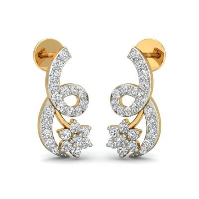 URMI DIAMOND STUDS EARRINGS in 18K Gold
