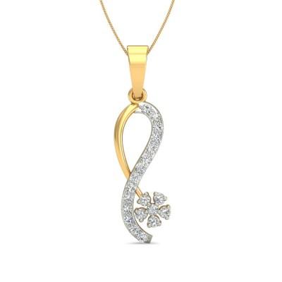 LOPA DIAMOND FASHION PENDANT in 18K Gold