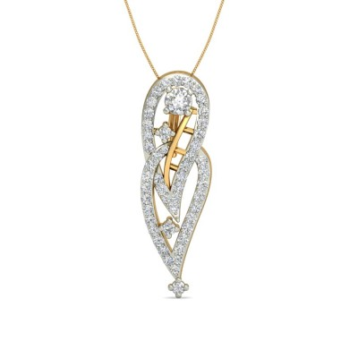 SUCHI DIAMOND FASHION PENDANT in 18K Gold