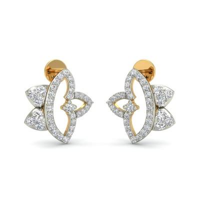 BIMBI DIAMOND STUDS EARRINGS in 18K Gold