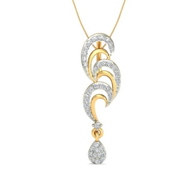 SUMONA DIAMOND FASHION PENDANT in 18K Gold