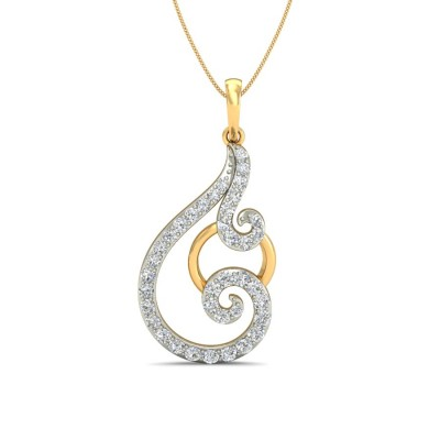ANIMA DIAMOND FASHION PENDANT in 18K Gold