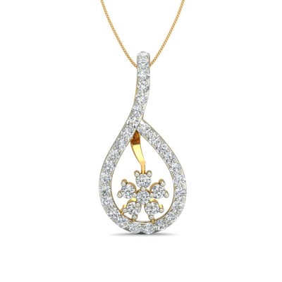 HASINA DIAMOND FASHION PENDANT in 18K Gold