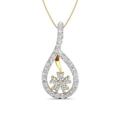 HASINA DIAMOND FASHION PENDANT in 18K Gold