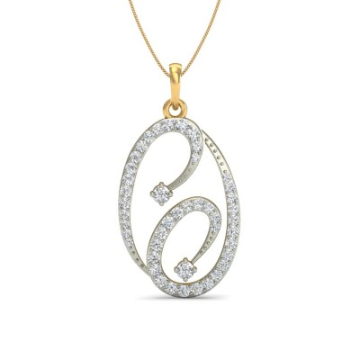 DAYANA DIAMOND FASHION PENDANT in 18K Gold