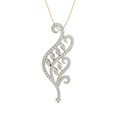 SALONI DIAMOND FASHION PENDANT in 18K Gold