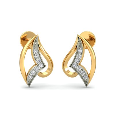 KASTURI DIAMOND STUDS EARRINGS in 18K Gold
