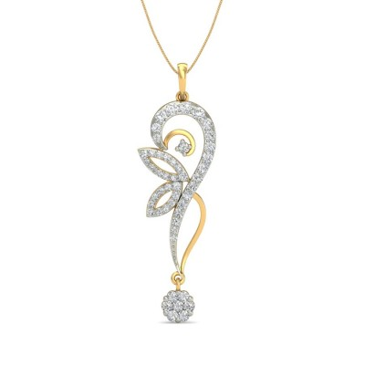 JANICE DIAMOND FASHION PENDANT in 18K Gold