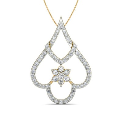 MARIAM DIAMOND FASHION PENDANT in 18K Gold