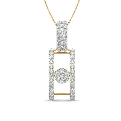 BRIDGET DIAMOND FASHION PENDANT in 18K Gold