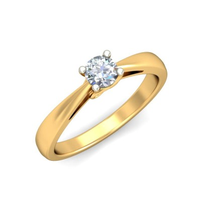 KAJOL DIAMOND CASUAL RING in 18K Gold