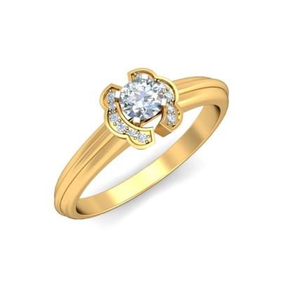 ANASUYA DIAMOND CASUAL RING in 18K Gold