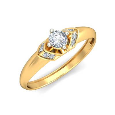 SUMI DIAMOND CASUAL RING in 18K Gold